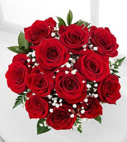 Gambar Buket Bunga Mawar Merah Cantik_Beautiful Red Roses Bouquet_Karangan Bunga Mawar Merah Cantik Romantis untuk Pacar Pengantin atau Kekasih
