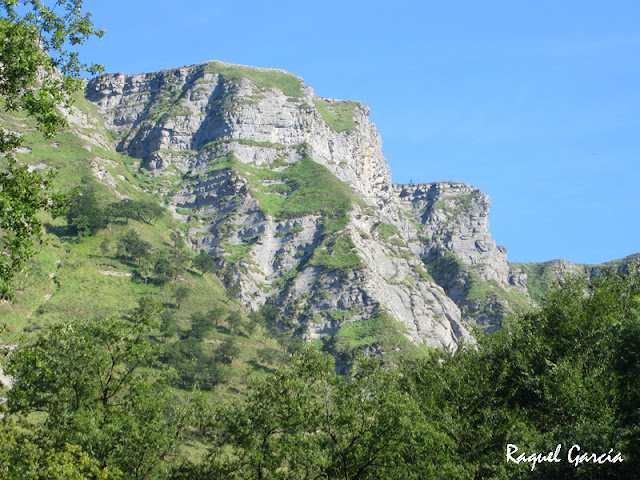 Nacimiento del Nervión por el cañón de Delika en Amurrio (Álava)