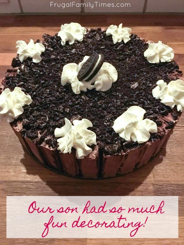 decorating oreo easy ice cream cake recipe