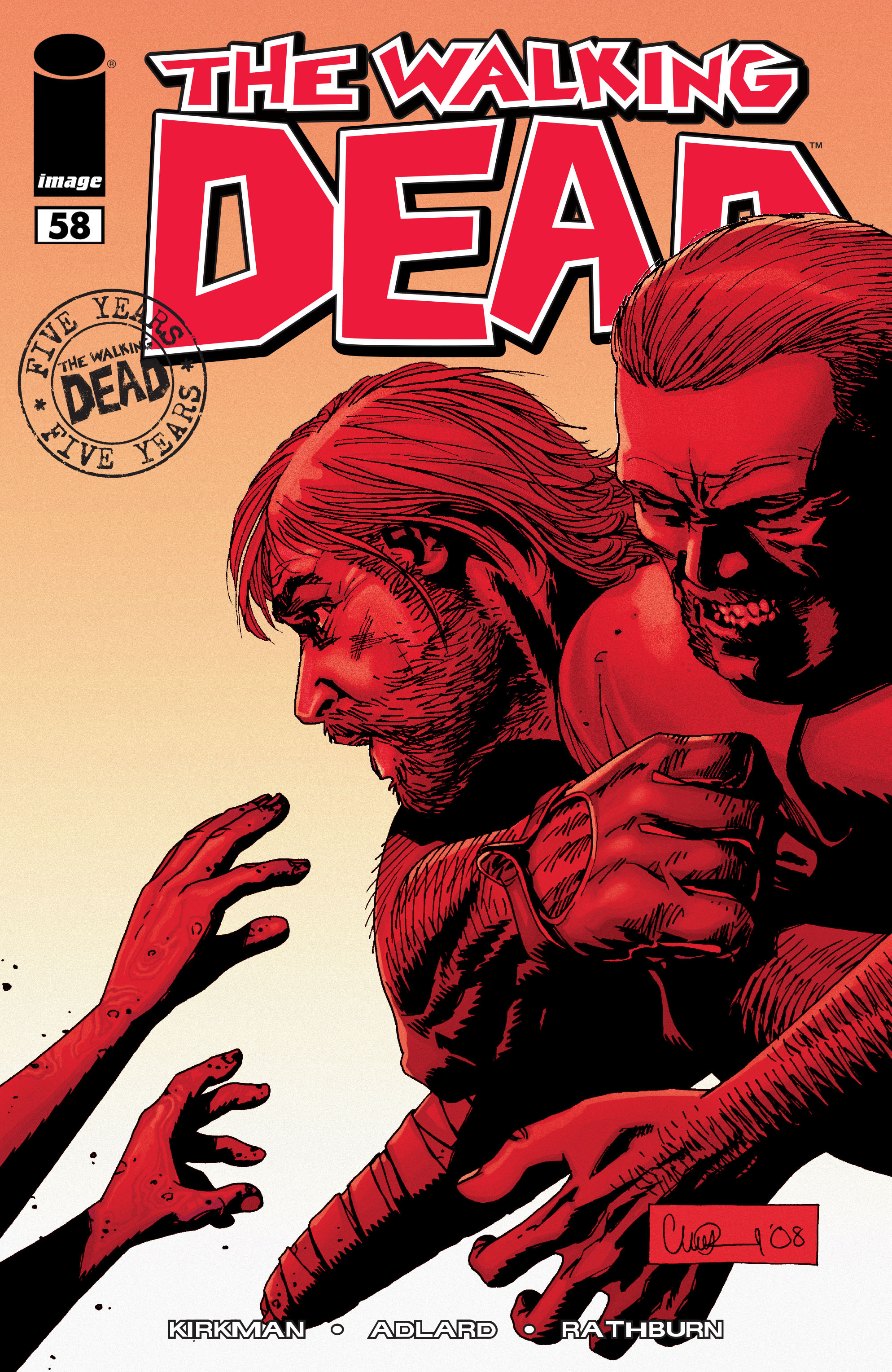 The Walking Dead 58 Page 1