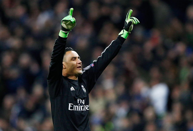 Keylor Navas GK Real Madrid