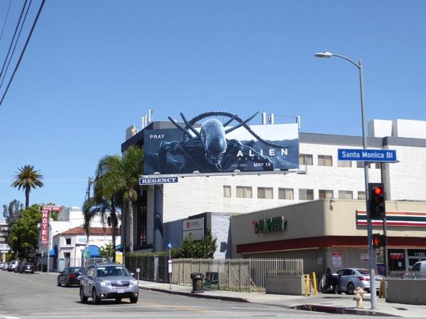 Alien Covenant movie billboard