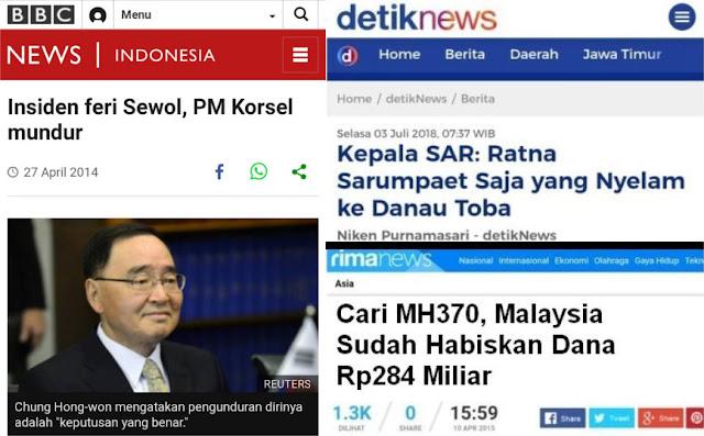 Di Korsel, Tenggelamnya Feri Sewol Perdana Menteri Mundur, Di Indonesia?