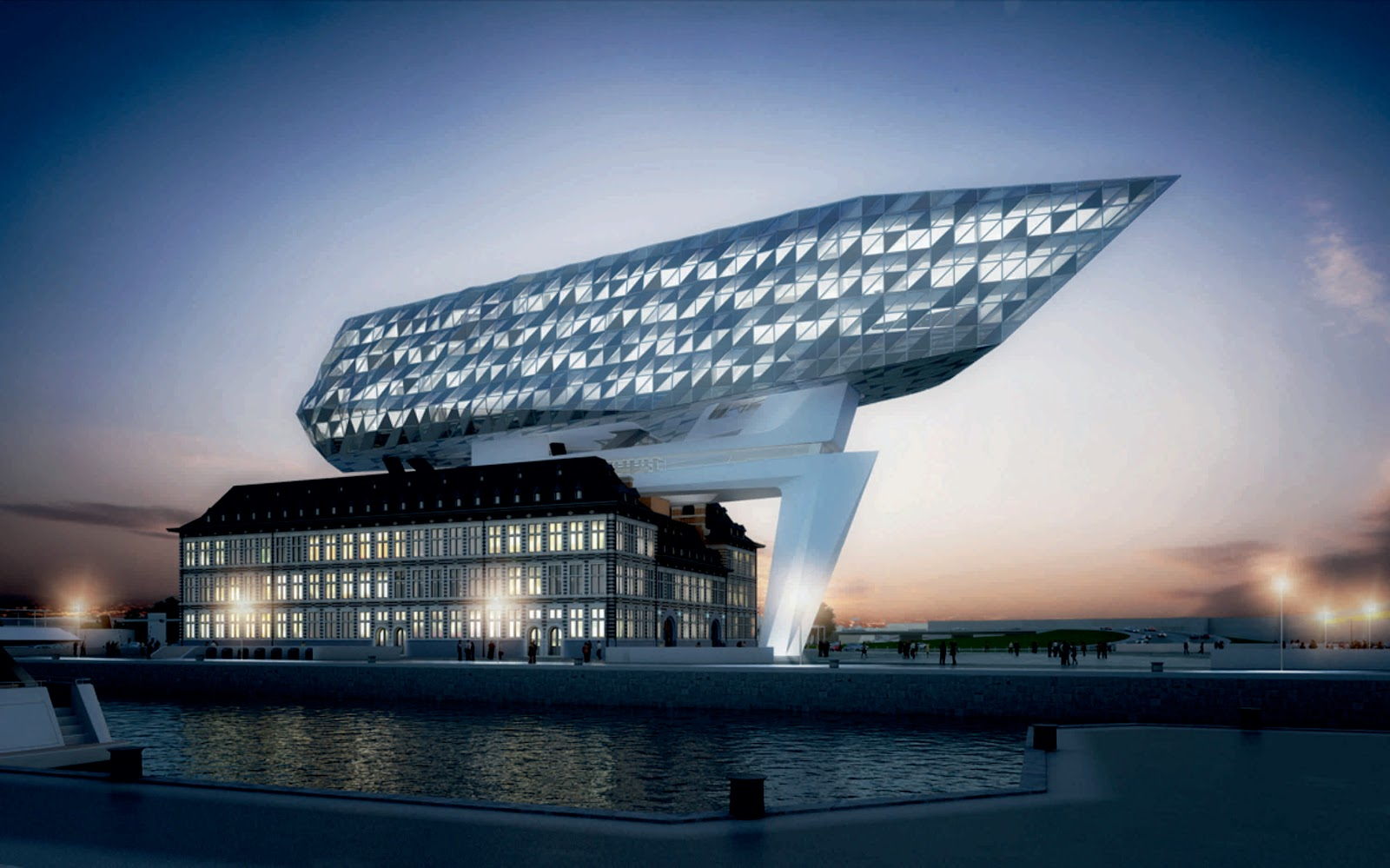 Port House By Zaha Hadid