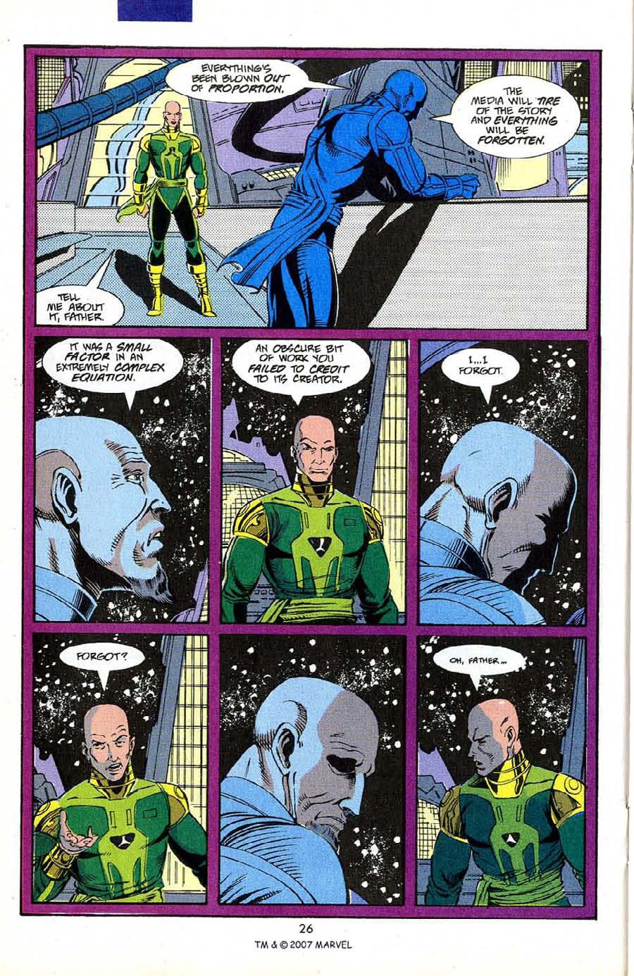 Read online Silver Surfer (1987) comic -  Issue #50 - 28
