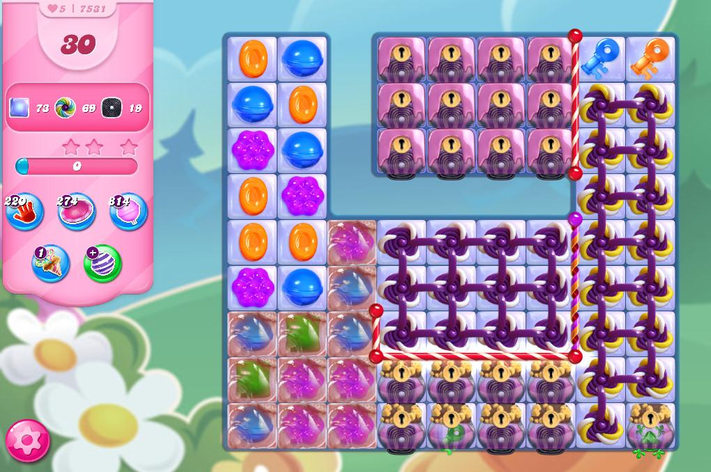 Candy Crush Saga level 7531