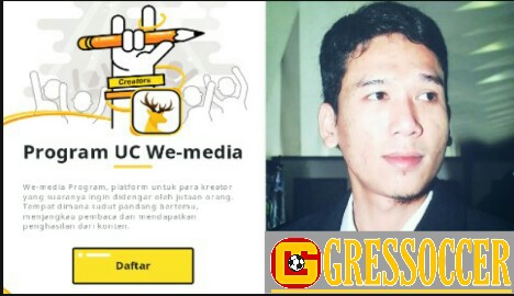cara daftar penulis uc news we-media