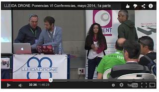 El vídeo de las ponencias de las V Conferencias de Lleida Drone