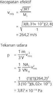 Jawaban soal fisika bab gas ideal nomor 5