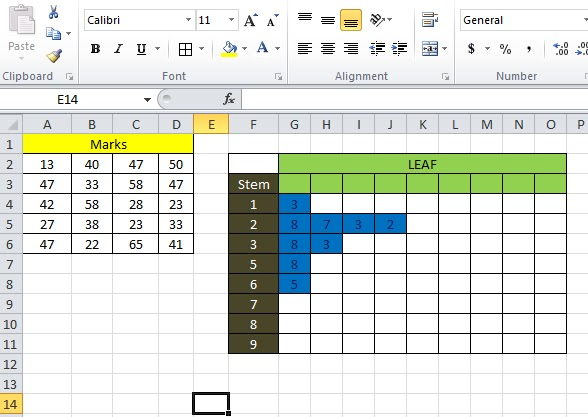 Stem and leaf diagram in excel excel and analytics below is a video demonstration of stem and leaf diagram simulator in excel ccuart Choice Image