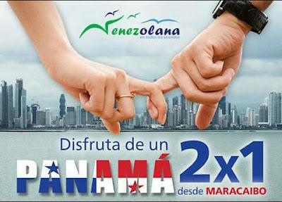 imagen Panama 2 x1 promoción julio 2017