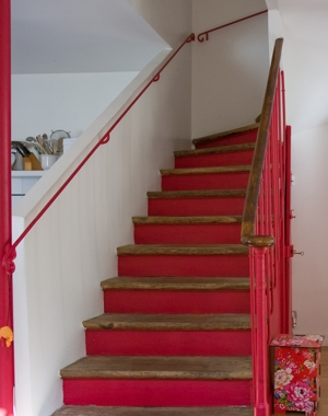 welcome to my wonderland personnaliser son escalier. Black Bedroom Furniture Sets. Home Design Ideas
