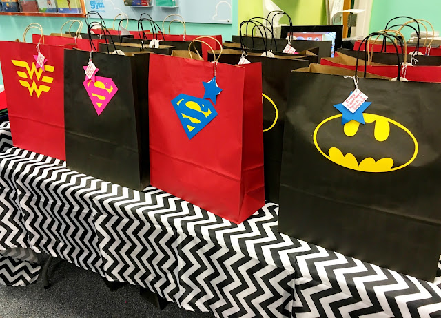 Superheros- Kids birthday party ideas