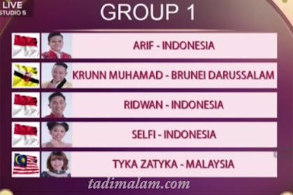 Pembagian Grup DA Asia 4 Top 10 Besar 11 Desember 2018