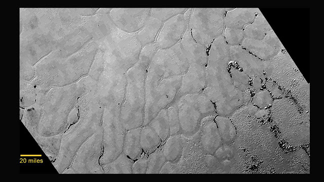 Convection could produce Pluto's polygons