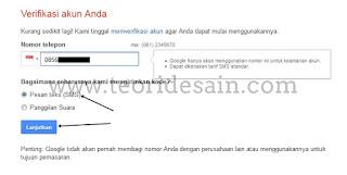 Daftar Gmail Terbaru Lewat Komputer Langkah ke 4