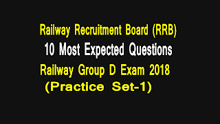 rrb group d practice set
