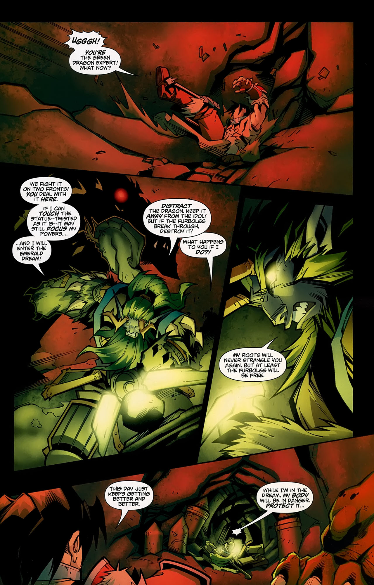 Read online World of Warcraft comic -  Issue #5 - 16