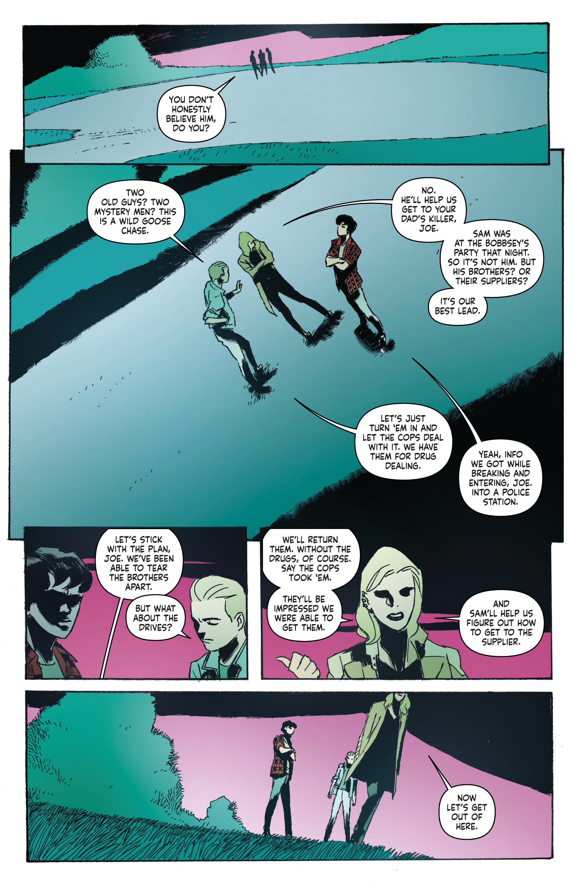 Read online Nancy Drew And The Hardy Boys: The Big Lie comic -  Issue #4 - 10