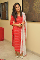 Anasuya Bharadwaj in Red at Kalamandir Foundation 7th anniversary Celebrations ~  Actress Galleries 044.JPG