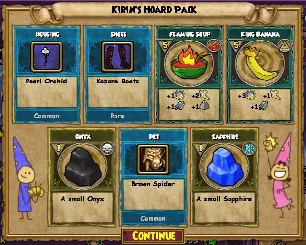 Itemghultures Hoard Pack Wizard101 Wiki - oc-ubezpieczenia info