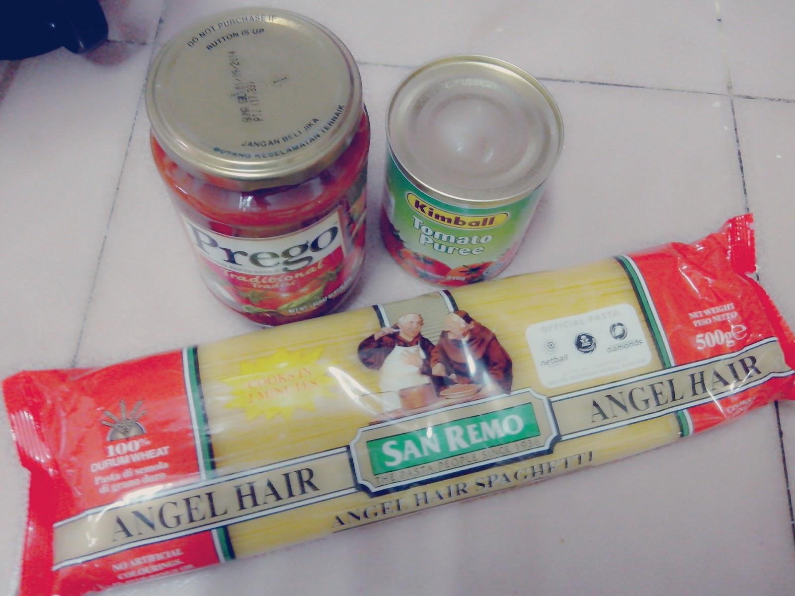 resepi spaghetti  ringkas  mudah Resepi Pasta Angel Hair Enak dan Mudah