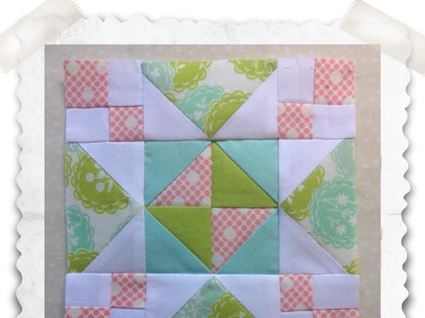 Chatelaine- Free BOW Sampler Quilt Block 81