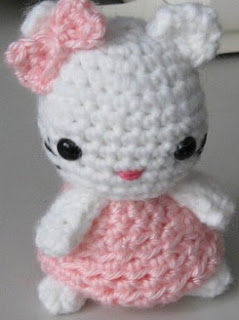 PATRON GRATIS HELLO KITTY AMIGURUMI 413