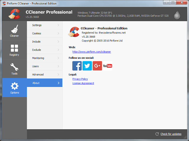 CCleaner 5.26.5937 PRO Serial Key