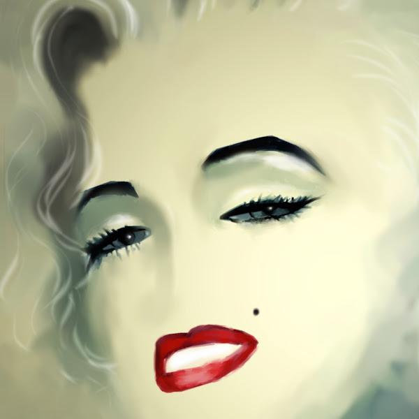 Marilyn Monroe - digital painting