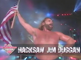 WCW Slamboree 1996 Review - Hacksaw Jim Duggan & V.K. Wallstreet faced The Bluebloods