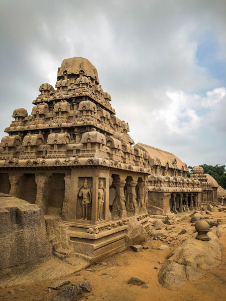 dharmaraj ratha mahabalipuram photo