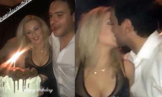 Γενέθλια για τον Μελέτη Ηλία – Το ξέφρενο πάρτυ και τα φιλιά με τη γυναίκα του