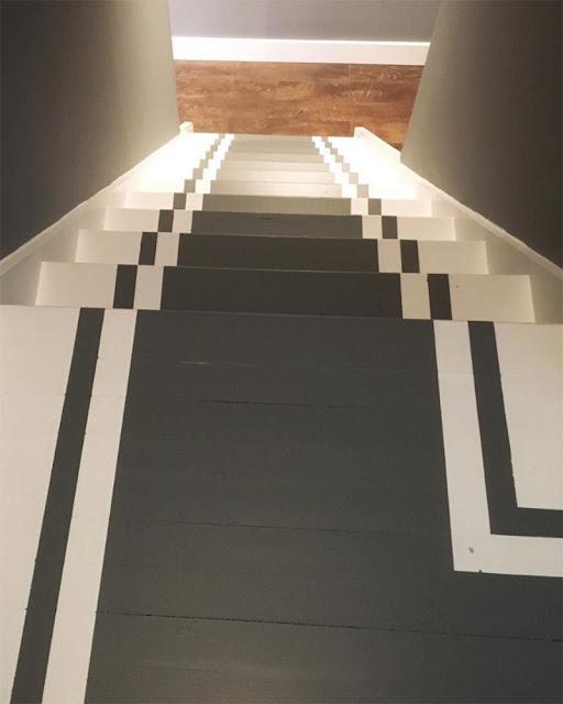 escalier peint idées originales