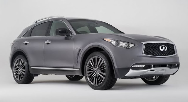 2017 Infiniti QX70 Limited Editions
