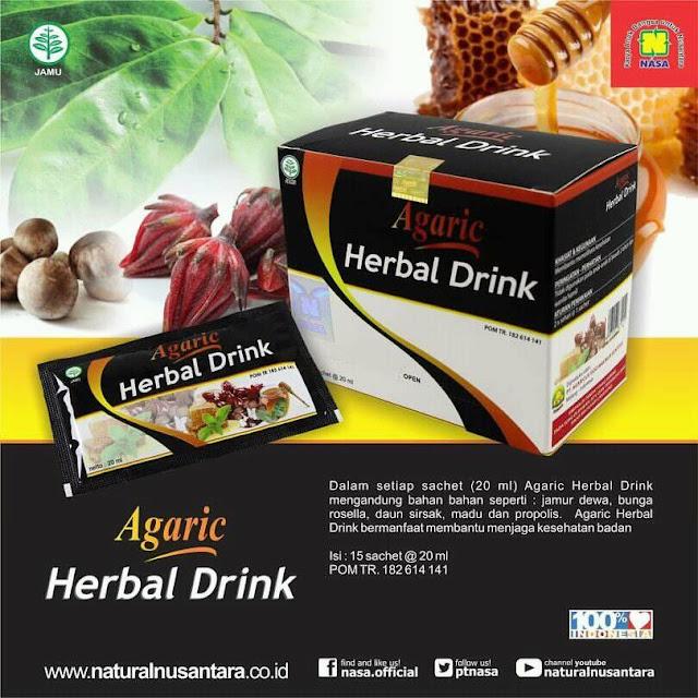 AGARIC - Herbal Drink Untuk Kesehatan Anda