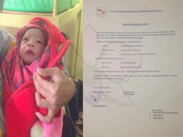 Dalam 1 Minggu, 2 Bayi Lahir di KM Wetar