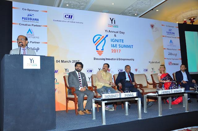 BVR Mohan Reddy keynote address at IGNITE Summit