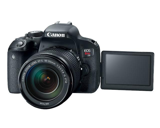 Canon anuncia las nuevas cámaras EOS Rebel T7i y EOS 77D