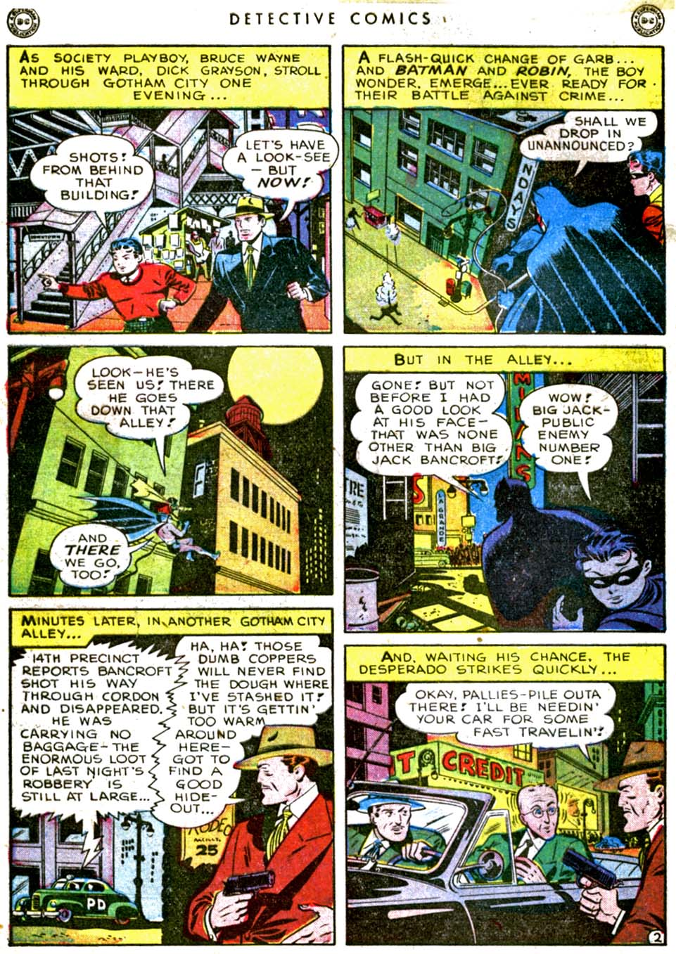 Detective Comics (1937) 144 Page 3