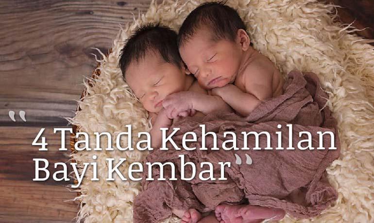 4 Tanda Kehamilan Bayi Kembar