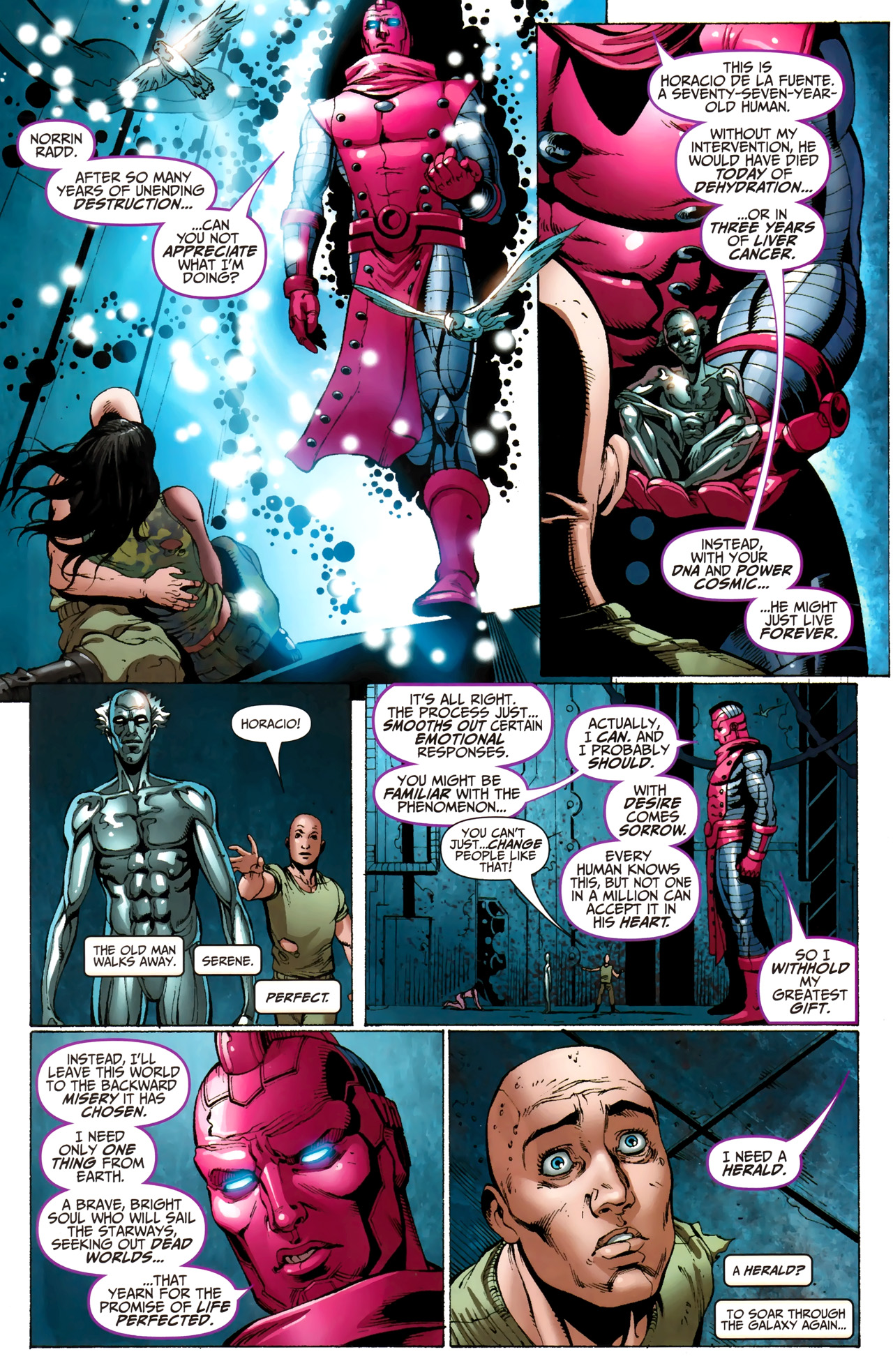 Read online Silver Surfer (2011) comic -  Issue #3 - 20