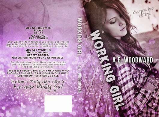 *Cover Reveal* Working Girl by A.E. Woodward