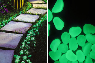 Must Have Backyard Picnic Gadgets - Glow in the Dark Pebbles
