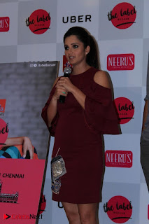 Indian Tennis Star Sania Mirza Pos in Red Short Dress at  0006.jpg
