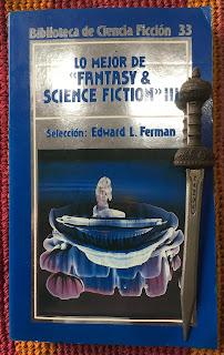 Portada del libro Lo mejor de Fantasy & Science Fiction III, de varios autores