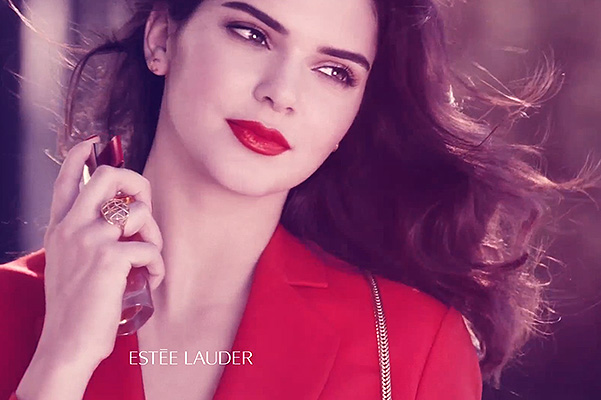 Modern Muse: Kendall Jenner in video advertising Estee Lauder