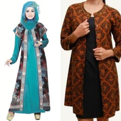 37 Baju Batik Blazer Panjang Model Baru