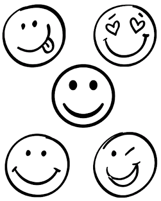 Gambar Mewarnai Emoticon - 5