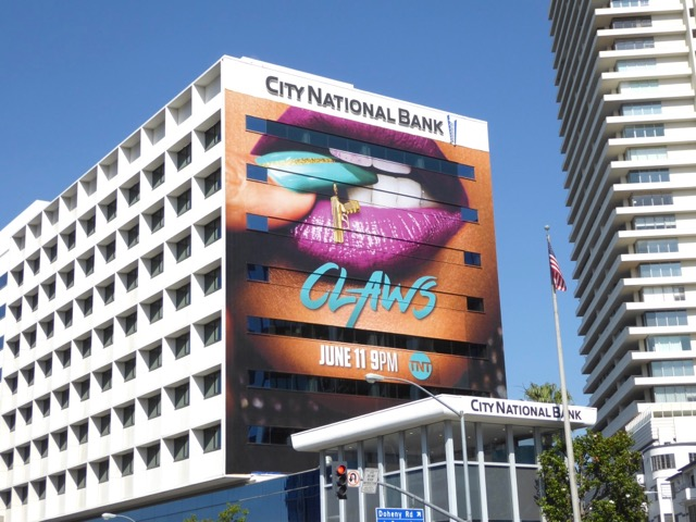 Giant Claws series premiere billboard